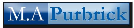 M A Purbrick logo